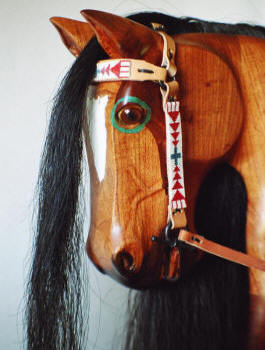 Two Feathers Rocking Horse