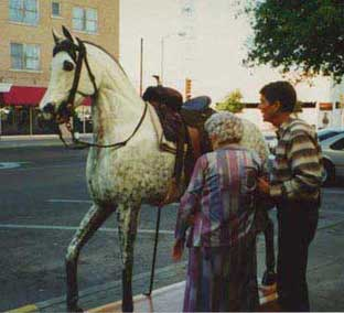 Native Texan - Street scene in San Angelo